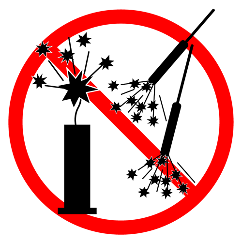 No Fireworks Message   CAMMI.org Community Association Managers of Marco  Island